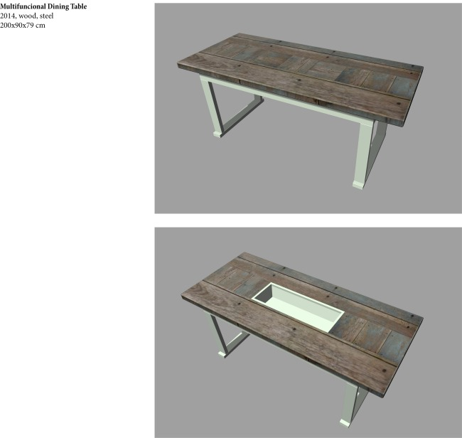 Multifunctional Dinning Table